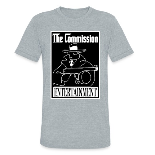The Commission Entertainment - BASIC T-Shirt - Unisex Tri-Blend T-Shirt