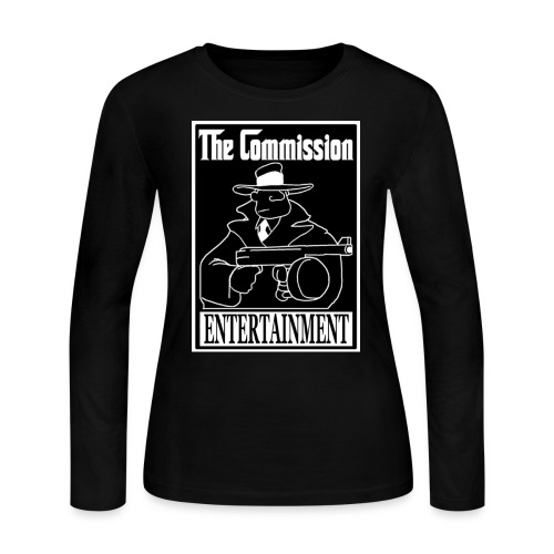 The Commission Entertainment - BASIC Women's Long Sleeve - Women's Long Sleeve Jersey T-Shirt