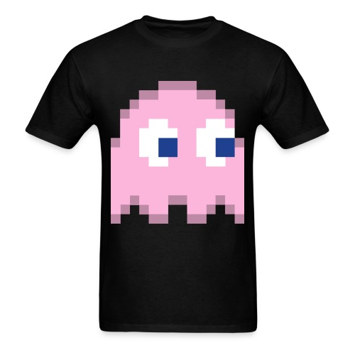 Pink ghost  - Men's T-Shirt