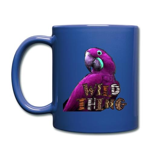 Wild Thing with purple parrot mug - Full Color Mug