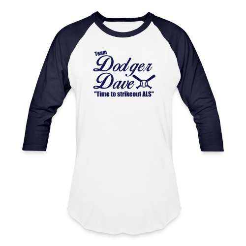 Men's Baseball Tee TDD Nblue - Baseball T-Shirt