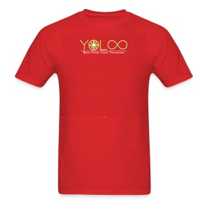 YOLOO (You Only Live Forever) #1 - Men's T-Shirt