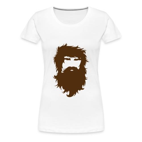 Beardman - Women's Premium T-Shirt