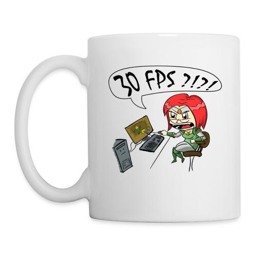 30 FPS Mug, White - Coffee/Tea Mug