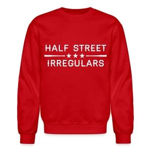 HSI Industrial - Men's Red Sweatshirt - Crewneck Sweatshirt
