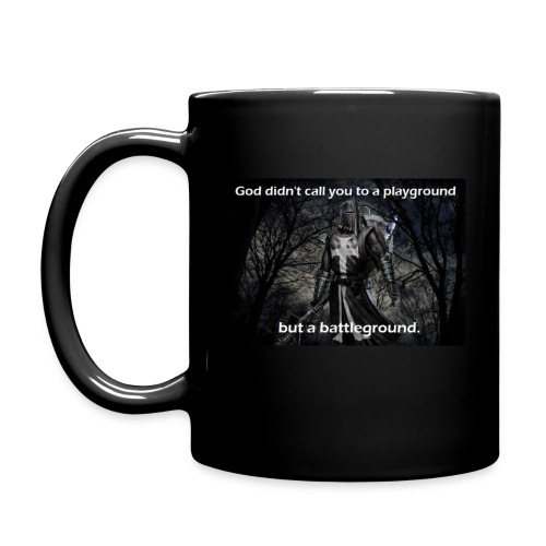 Fight the good fight coffee mug - Full Color Mug
