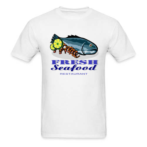 Fresh Seafood Restaurant - Men's T-Shirt