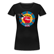 T-Shirts ~ Women's Premium T-Shirt ~ We Live Native = WE ARE IDLE NO MORE