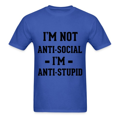 Anti Stupid StupidT - Men's T-Shirt