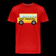 T-Shirts ~ Men's Premium T-Shirt ~ Assistant Principal School T-shirt