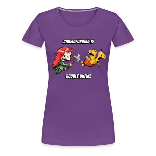 Women's Double Unfine Tee - Women's Premium T-Shirt