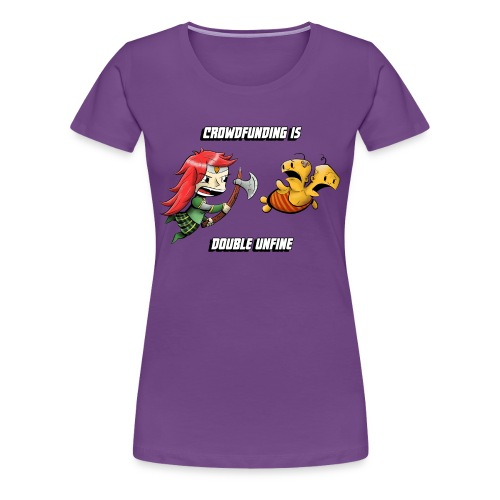 Women's Double Unfine Tee - Women's Premium T-Shirt