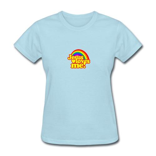Jesus Loves Me (Ladies) - Women's T-Shirt