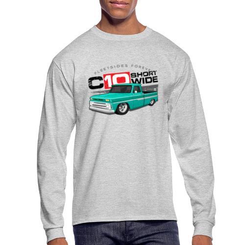 C10 Short Wide PREMIUM ART LS Tee - Men's Long Sleeve T-Shirt
