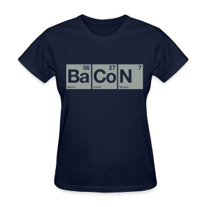 Elements: Ba Co N - Women's T-Shirt