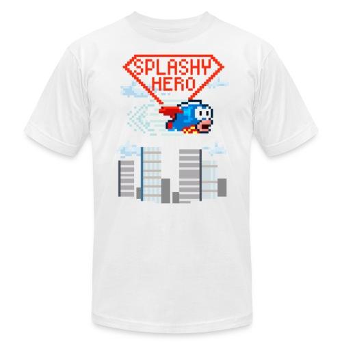 Splashy Hero Men's T-Shirt - Men's Fine Jersey T-Shirt