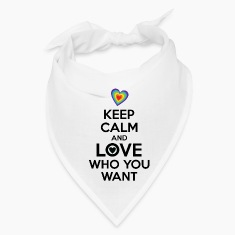 Keep Calm and Love Who You Want LGBT Pride Caps