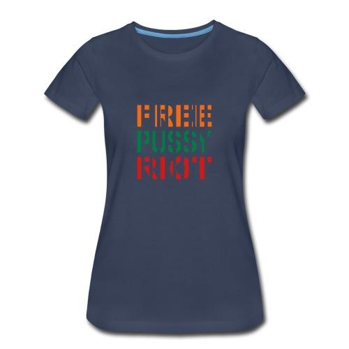 * Free Pussy Riot *  - Women's Premium T-Shirt