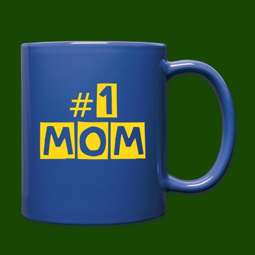#1 Mom Mug - Full Color Mug