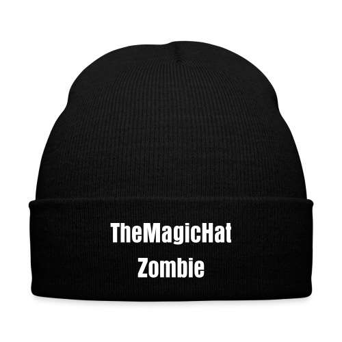 TheMagicHatZombie Cap - Knit Cap with Cuff Print