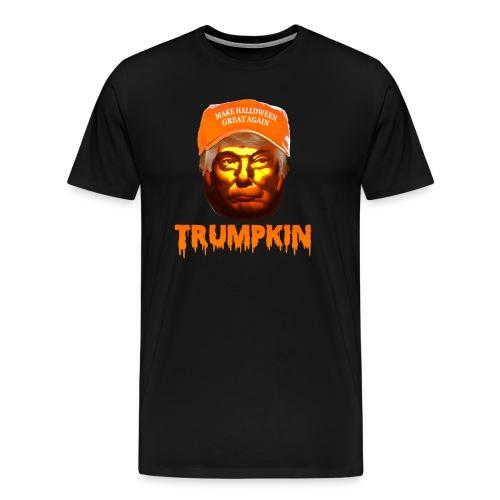 Make Halloween Great Again Trumpkin Shirt - Men's Premium T-Shirt