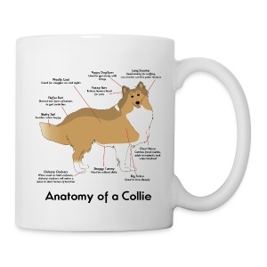 Anatomy of a Collie - Mug - Coffee/Tea Mug