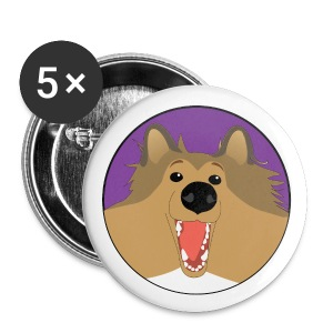 Holly the Collie Basic - Button - Small Buttons