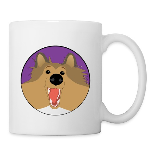 Holly the Collie Basic - Mug - Coffee/Tea Mug