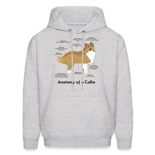 Anatomy of a Collie - Mens Hoodie - Men's Hoodie