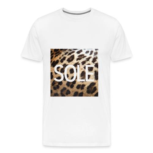 SOLE Lepard Logo Tee - Men's Premium T-Shirt