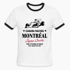 Montreal Formula One T-Shirts
