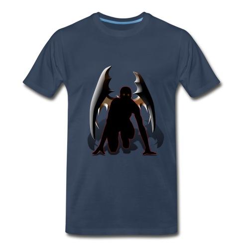 Starting Blocks Vampire - Men's Premium T-Shirt