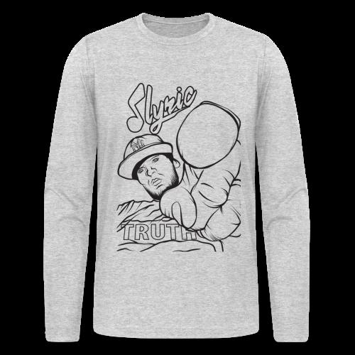 dLyric Men's Long Sleeve T-Shirt by American Apparel - Men's Long Sleeve T-Shirt by Next Level