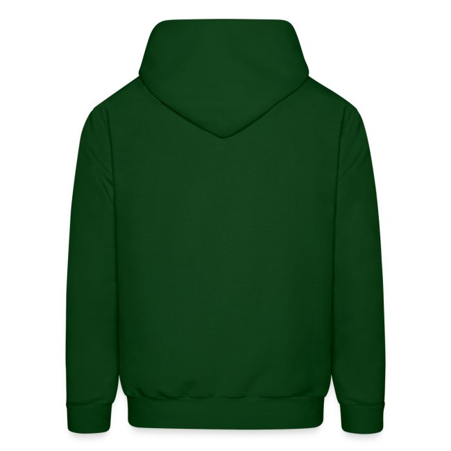 Skallagrim logo - green hoodie