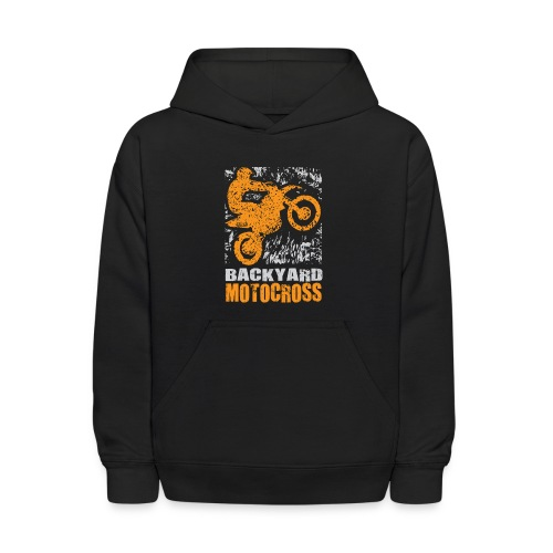Backyard Motocross - Kids' Hoodie