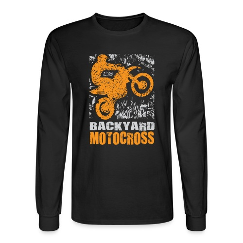 Backyard Motocross - Men's Long Sleeve T-Shirt