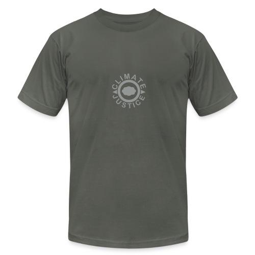 * CLIMATE JUSTICE * (velveteen.print)  - Men's Fine Jersey T-Shirt