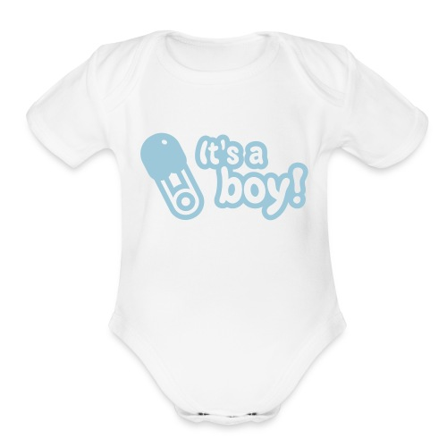Don Slay - Organic Short Sleeve Baby Bodysuit