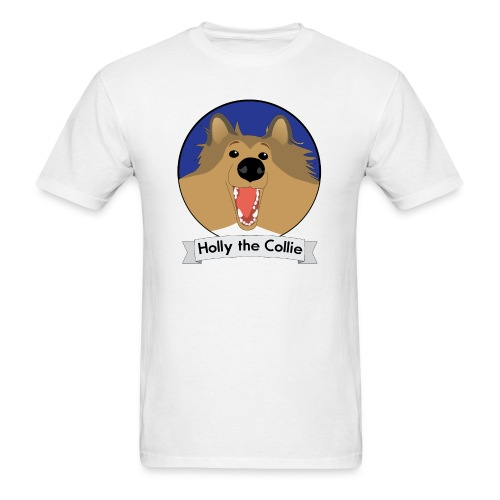 Holly the Collie Basic - Mens T-shirt - Men's T-Shirt