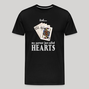 Partner called hearts - Men's Premium T-Shirt