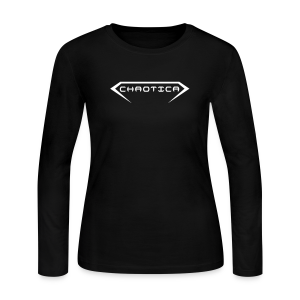 Women's CHAOTICA (Logo) Long Sleeve T-shirt - Women's Long Sleeve Jersey T-Shirt