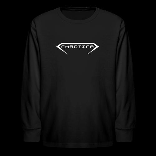 Kid's CHAOTICA (Logo) Longe Sleeve T-shirt - Kids' Long Sleeve T-Shirt