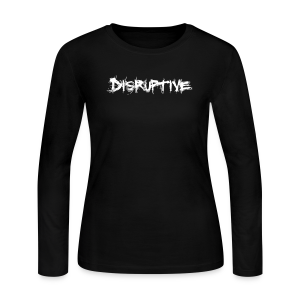 Women's Disruptive Long Sleeve T-Shirt - Women's Long Sleeve Jersey T-Shirt