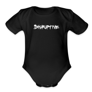 Baby's Disruptive One-Piece - Short Sleeve Baby Bodysuit