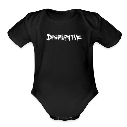 Baby's Disruptive One-Piece - Organic Short Sleeve Baby Bodysuit