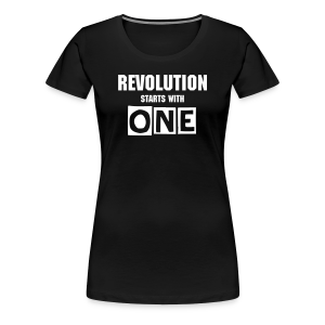 Women's Revolution T-shirt - Women's Premium T-Shirt