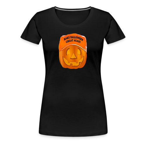 Make Halloween Great Again T-shirt - Women's Premium T-Shirt