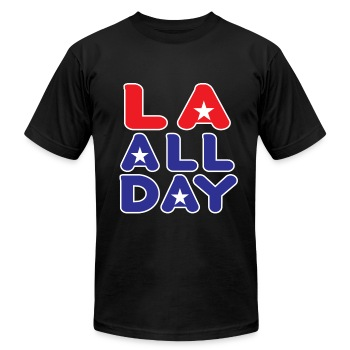 LA ALL DAY - Men's Fine Jersey T-Shirt