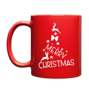 Merry Christmas tree Full Color Mug - Full Color Mug