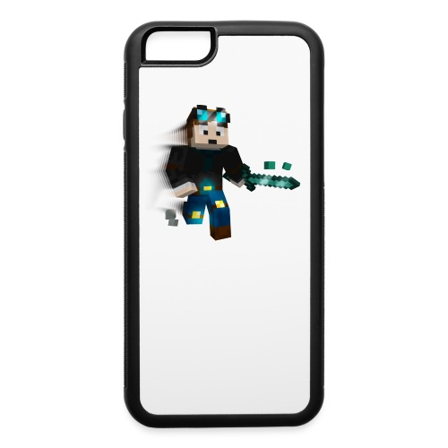 Minecraft TheDiamondMinecart - iPhone 6 Rubber Case - iPhone 6/6s Rubber Case